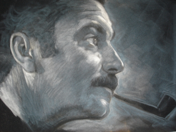Georges Brassens by ceceach